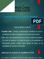 AULA 7 - Introducao a Economia - Equilibrio Geral
