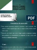 AULA 6 - Introducao a Economia - Estrutura de Mercado