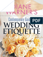 Contemporary Guide to Wedding Etiquette