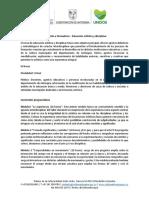 Formacion a Formadores-Educacioěn Artiěstica