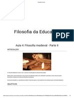 Aula 4 - Filosofia medieval - Parte 2