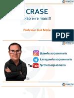 NAO ERRE MAIS - Crase