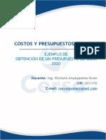 Sesión 2_CERSA Ejemplo de Aplicación de obtención de presupuesto.2020_VF