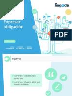 07 Expresar obligación EXPRESIONES. Principiante A1_2032X_ES Español