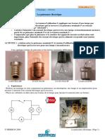 CPHY-319 La Puissance Electrique Eleve