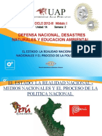 2a Semana - Clase 2 - Realidad Nacional