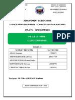 TPE Informatique grpe 1 Cloud Computing