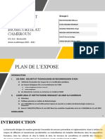 EXPOSE DE BIOSECURITE OGM et normes Cameroun  v2
