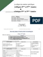 Programme d'Initiation Technique 2020-2021