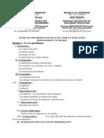 FICHE DE PROGRESSION ANGLAIS 5è ET A2