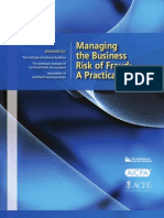 Managing the Business Risk of Fraud - A Practical Guide