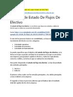 DIFERENCIA ENTRE FLUJO DE CAJA Y FLUJO DE EFECTIVO