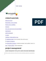 Project management-Diverse