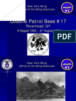 Coastal Patrol Base 17 History