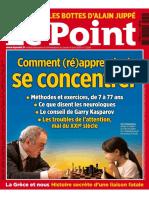 Comment (Ré)Apprendre à Se Concentrer (Le Point, 2015)