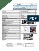 Check List Camión de Servicio
