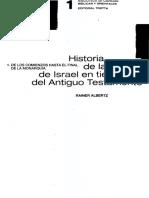 Albertz Rainer - Historia De La Religion En Israel En Tiempos Del Antiguo Testamento Vol 01-páginas-1,13-29