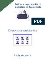 Vida en democracia en Guatemala