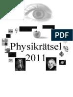 Physikrätsel 2011