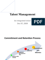 Talent Management an integrated vision