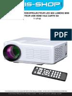Vidéoprojecteur LED 800 Lumens Y-vp48
