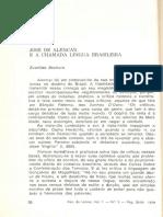 Alencar e a Língua Brasileira - Bechara (1)