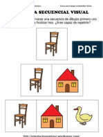 SECUENCIA DE MEMORIA VISUAL DIBUJOS