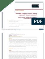 Politologos Subcampos y Criterios Para Una Propuesta de Educación Profesional Redalyc