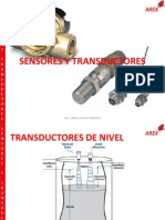 2.4 Transductores de Nivel y Caudal