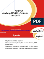 Planning Your Hadoop NoSQL Projects for 2011