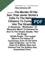 """Military Resistance 9D  9:""""Multitudes"""""""