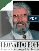 boff, leonardo - memorian de un teologo de la liberacion