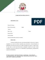 AEE Relatório