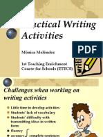 Practical Writing Activities - Mónica Meléndez