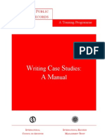 CaseWritingManual