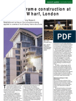 Application of best practice on concrete frame construction at St George Wharf by Richard Moss