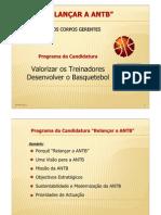 Programa Relançar ANTB