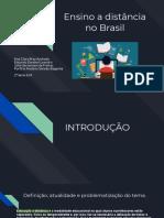 Ensino a Distância No Brasil (1)