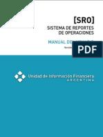 UIF - Manual del Usuario - Sistema de Reportes de Operaciones