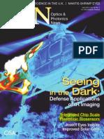 Towards an Integrated Chip Scale Plasmonic Biosensor -- OPN April 2011, Vol. 22 No. 4