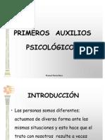 Primeros axilios psicologicos