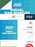 Anual San Marcos - Álgebra Semana 03