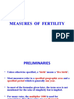 Measures of Fertility
