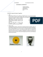 Instrumentos topográficos