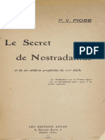 1927 Piobb Secret de Nostradamus