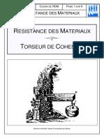 040 - RDM Torseur de Cohésion_2003