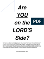 are you on the Lords side