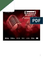 Manual creative sound blaster italiano