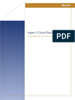 On Boarding SQL Server Private Cloud Environments