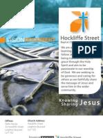 Hockliffe Street Vision Document April 2011